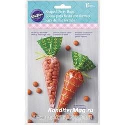 Пакет для сладостей/подарков Морковка 15 шт. Вилтон 1