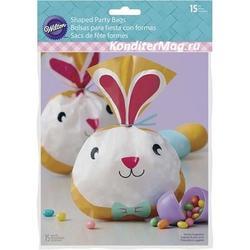 Пакет для сладостей Пасхальный кролик + завязки 30 предм. 2