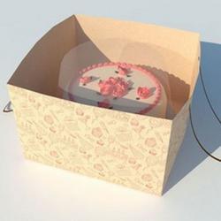Пакет под торт Пирожное 30х30х20 см. 1