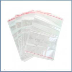 Пакет прозрачный 20х26 см. со скотчем 10 шт. 1