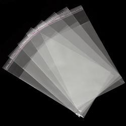 Пакет прозрачный 20х33 см. со скотчем 20 шт. 1