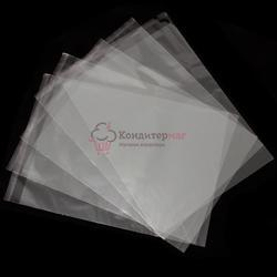 Пакет прозрачный со скотчем 28х36 мм. 10 шт. 1