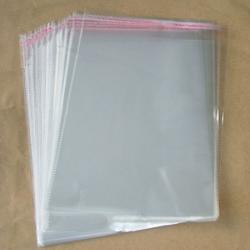Пакет прозрачный 15х26 см со скотчем 50 шт. 1