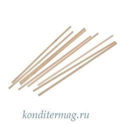 Палочки для кейк-попсов и леденцов 15х0,3 см. 50 шт. дерево 1
