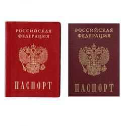 Вафельная картинка Паспорт 9,5х12,7 см. 1