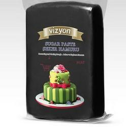 Мастика сахарная Полен черная 500 г. 1