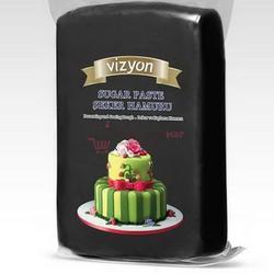 Мастика сахарная Polen Vizyon черная 500 г. 1