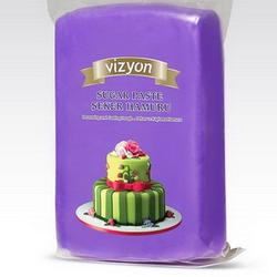 Мастика сахарная Полен фиолетовая 500 г. 1