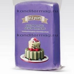 Мастика сахарная Полен фиолетовая 1 кг. 1