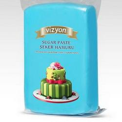 Мастика сахарная Polen Vizyon голубая 500 г. 1