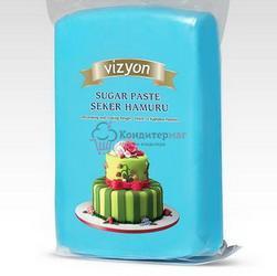 Мастика сахарная голубая 500 г. Polen Vizyon 1