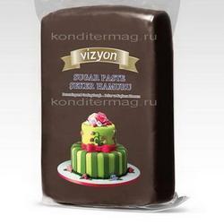 Мастика сахарная Polen Vizion коричневая 500 г. 1