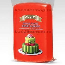 Мастика сахарная Polen Vizyon красная 1 кг. 1