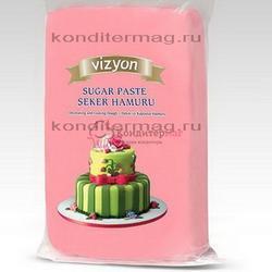 Мастика сахарная Polen Vizyon розовая 500 г. 1