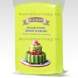 Мастика сахарная Полен салатовая 1 кг. 1