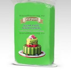 Мастика сахарная Polen Vizyon зеленая 500 г. 1