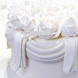 Мастика сахарная Полен белая ведро 6 кг. 3