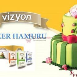 Мастика сахарная Polen Vizyon розовая 500 г. 2