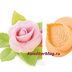 Плунжеры Лист розы набор 3 шт. Delicia Deco 1