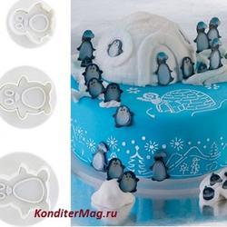 Плунжеры Пингвины набор 3 шт. 2