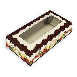 Коробка для сладостей 21х10х5 см. Яркий десерт по56750 1