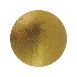 Подложка круглая 30 см, золото, 1