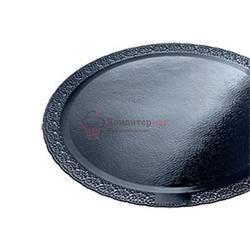 Подложка под торт усиленная 2,5 мм. Леонардо 12 см. черная 1