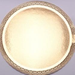Подложка под торт усиленная 2,5 мм. Леонардо 35 см. золото 1