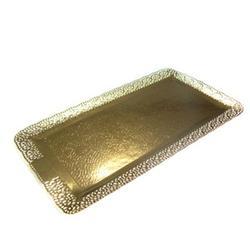 Подложка под торт усиленная 2,5 мм. Леонардо 16х36 см. золото 1
