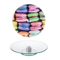 Поворотный столик для торта 32х2 см. Макаронс 1
