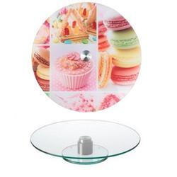 Поворотный столик для торта 32х2 см. Сладости 1