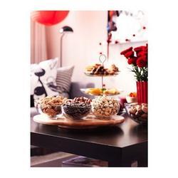 Поворотный столик для торта 39х4 см. Снудда дерево 2