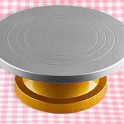 Столик поворотный 30х12 см. на золотой ножке 1