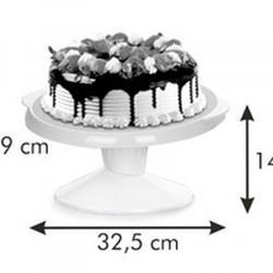 Поворотный столик для торта 29х15 см. с наклоном Tescoma 2