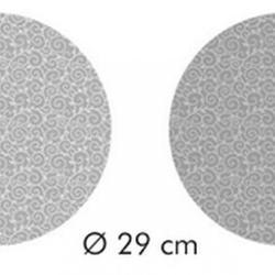 Подставка для торта 28х7 см. Листочки  2-стор. 4