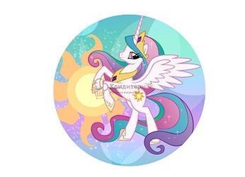 Вафельная картинка Пони 1