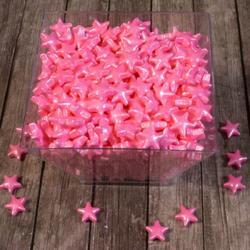 Посыпка сахарная Звездочки розовые перл. 12 мм. 50 г 1