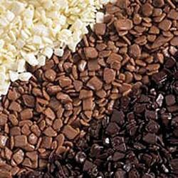 Крошка шоколадная молочная глянцевая 20% 100 г. 1