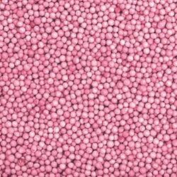 Посыпка сахарная Шарики розовые 100 г. банка 1