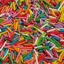 Посыпка Вермишель разноцветная микс 100 г. 1