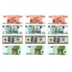 Вафельная картинка Деньги 1