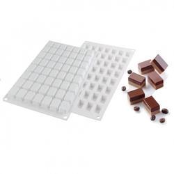 Форма силиконовая Прямоугольник 56 ячеек 1