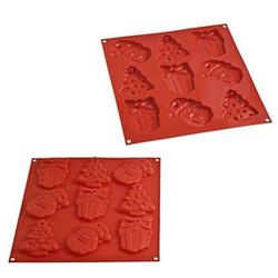 Формочка для выпечки печенья силикон Рождество 1