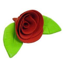 Украшение сахарное Роза красная 5 шт. 1