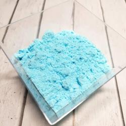 Сахарная пудра нетающая бархатная Голубая 160 г. 2