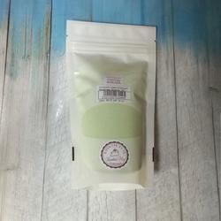Сахарная пудра нетающая бархатная Зеленая 160 г. 1