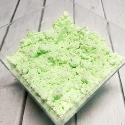 Сахарная пудра нетающая бархатная Зеленая 160 г. 2