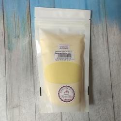 Сахарная пудра нетающая бархатная Желтая 160 г. 1