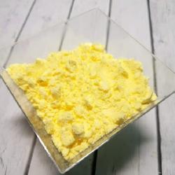 Сахарная пудра нетающая бархатная Желтая 160 г. 2