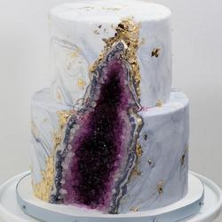 Сахарные кристаллы темно-фиолетовые 90 г. 2